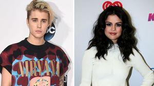 Justin Bieber und Selena Gomez schauen ernst