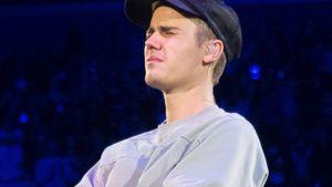 Justin Bieber weint