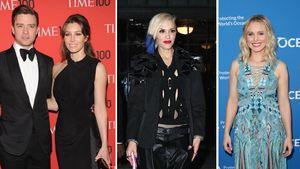 Justin Timberlake, Jessica Biel, Gwen Stefani und Kristen Bell