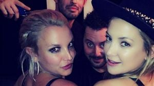 Kate Hudson feiert mit Britney Spears