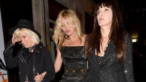 Kate Moss und Annabelle Neilson bei Sadie Frosts 50. Geburtstag