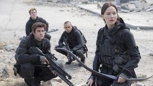 Katniss, Gale, Finnick ziehen in die letzte Schlacht (Hunger Games)
