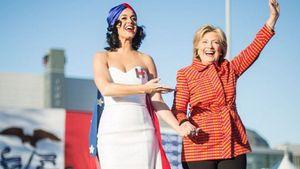 Katy Perry gratuliert Hillary Clinton zum Geburtstag
