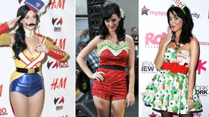 Katy Perry in einer Collage