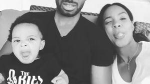 Kelly Rowland mit ihrem Baby