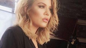 Khloe Kardashian guckt verträumt in die Ferne