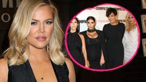 Khloe Kardashian und ihre Familie Collage