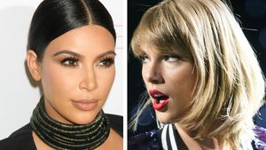 Kim Kardashian und Taylor Swift in einer Collage
