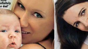 Kimberly Stewart und Kristin Davis mit Babys