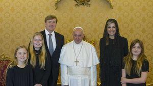 Königin Maxima und König Willem-Alexander beim Papst