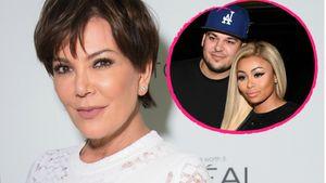 Kris Jenner, Robert Kardashian und Blac Chyna in Collage