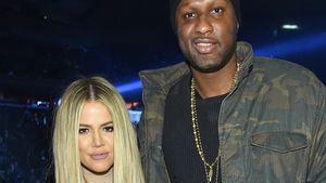 Lamar Odom und Khloe Kardashian posieren zusammen