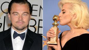 Leonardo DiCaprio und Lady Gaga in einer Collage