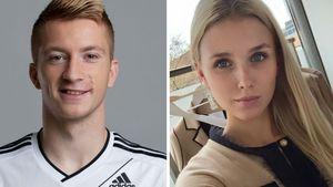 Marco Reus neben Freundin Scarlett Gartmann