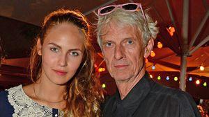 Mathieu Carriere und seine Tochter Elena