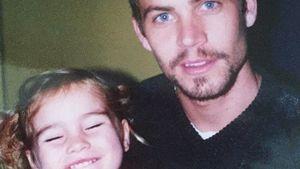 Meadow mit ihrem Vater Paul Walker
