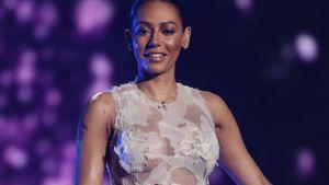 Mel B. in eleganter Robe bei X-Factor