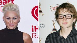 Miley Cyrus und Angus T. Jones