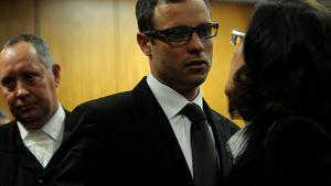 Oscar Pistorius im Gericht mit Brille