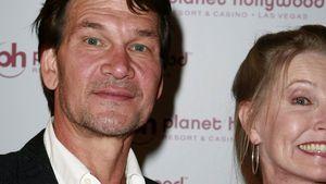 Patrick Swayze und Lisa Niemi auf dem roten Teppich