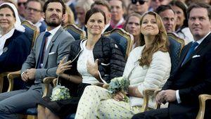 Sofia Hellqvist und Madeleine in einer ähnlichen Jacke