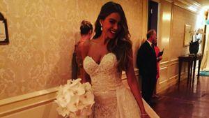 Sofia Vergara im Hochzeitskleid