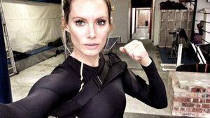 Stuntfrau Oliva Jackson für Resident Evil
