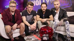 Tokio Hotel im Young Hollywood Studio