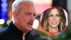 Tom Hanks und seine Frau Rita Wilson Collage