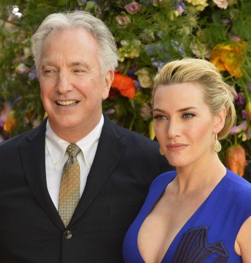 """Alan Rickman und Kate Winslet feierten nach 20 Jahren für """"Die Gärtnerin von Versailles"""" eine Film-Reunion"""