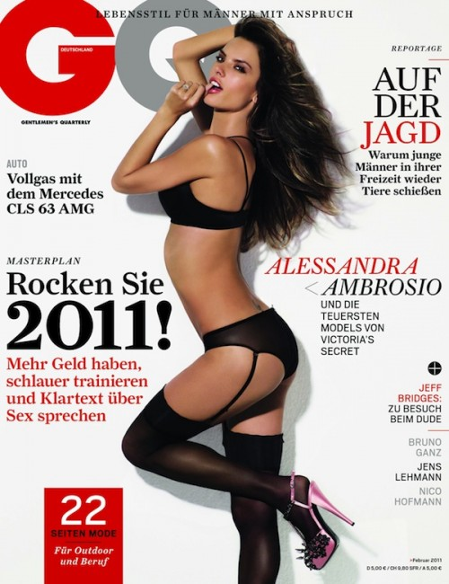 Alessandra Ambrosio Gq 2011 photo