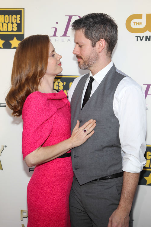 Amy Adams kam mit Darren Le Gallo zu den Critics' Choice Awards 2014