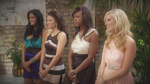 Der Bachelor - Anja, Sissi, Natalie und Katja waren die letzten vier Mädchen