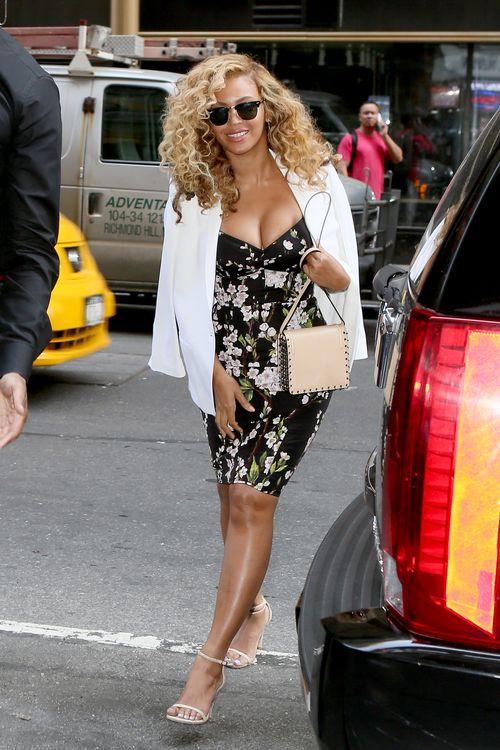 Beyoncé zeigte jetzt Dekolleté