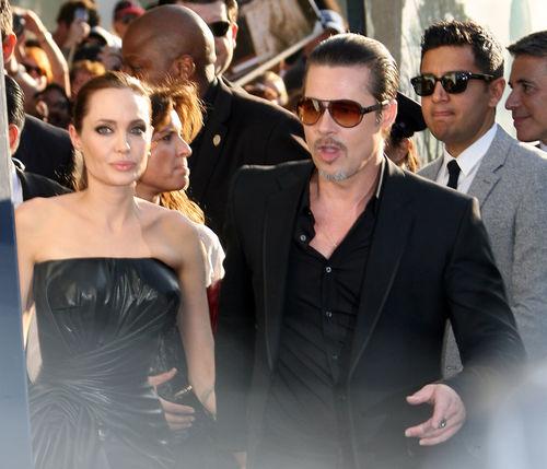 Brad Pitt ist geschockt: Angelina soll sich mit einem späteren Sex-Täter getroffen haben