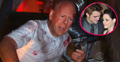 Bruce Willis ist unglücklich, weil Robert Pattinson und Kristen Stewart kein Paar mehr sind