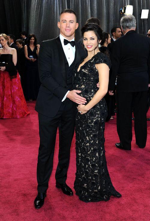 Channing Tatum und Jenna Dewan-Tatum kamen zu der Oscarverleihung