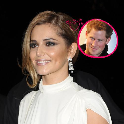 Cheryl Cole ist wohl heimlich in Prinz Harry verliebt