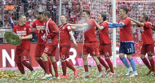 Der FC Bayern ist wieder deutscher Meister