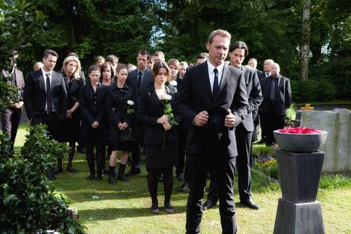 Rebeccas Beerdigung war für die Darsteller nicht einfach