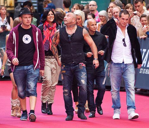 """Die Gang von """"Berlin - Tag & Nacht"""" machte den roten Teppich unsicher"""