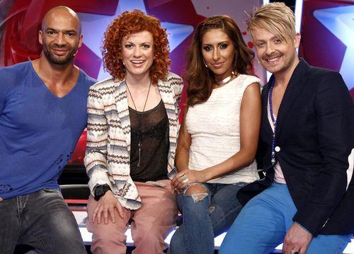 Die ersten Kandidaten traten heute vor die Popstars-Jury