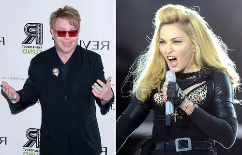 Elton John wetterte harsch gegen Madonna