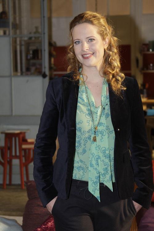 """Diana Amft steht gerade für die Komödie """"Frisch gepresst"""" vor der Kamera"""