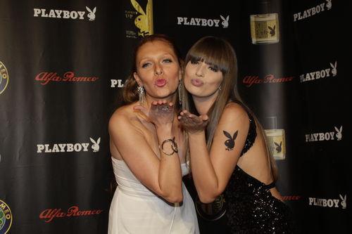 Georgina und Bernadette besuchten gemeinsam die Playboy-Party in Köln