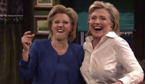 Hillary Clinton persiflierte sich in einer amerikanischen Comedy-Show