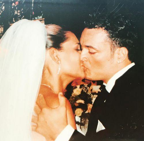 Emotionales Foto: Jana Ina und Giovanni Zarrella bei ihrer Hochzeit 2005
