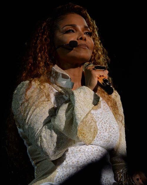 """Janet Jackson beim Auftakt der """"Unbreakable""""-Tour"""