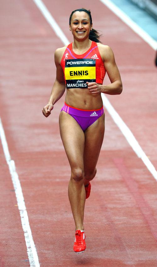 Jessica Ennis hat eine tolle Figur