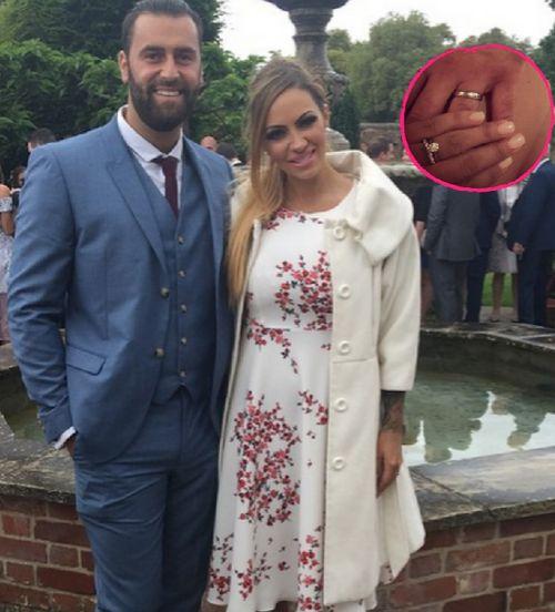 Jodie Marsh hat James Placido geheiratet